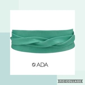 ADA Obi Classic Wrap Belt in Aqua
